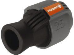 "Grijze GARDENA Sprinklersysteem - Verbindingsstuk 25mm x 3/4"" binnendraad"