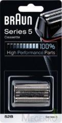 Zwarte Braun 52B Series 5 Cassette - Vervangend Scheerblad Zwart