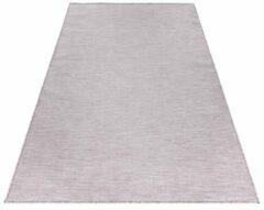 Mambo Sisal Binnen en Buiten Vloerkleed Effen Laagpolig Roze - 67x230 CM