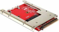 Rode DeLOCK IDE 44-pins > mSATA converter met 2,5'' frame (7 mm)