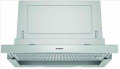 Zilveren Siemens LI67SA531 - iQ300 - Afzuigkap - Vlakscherm