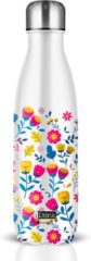 Witte Total Juggling I-Drink bottle 500 ml Flowers - Thermosfles