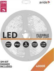Avide LED Strip Blister 12V 7.2W NW 5 m