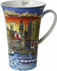 Charles Fazzino Sunset over Hamburg - Artist Mug