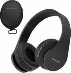 PowerLocus P1 draadloze Over-Ear Koptelefoon Inklapbaar - Bluetooth - Met microfoon – Zwart