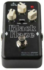 EBS Black Haze overdrive / distortion effectpedaal