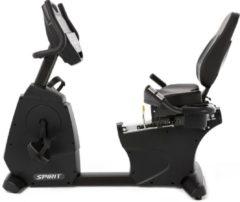 Grijze Spirit Fitness Pro CR800 Hometrainer Ligfiets - Professionele Fietstrainer - Top Garantievoorwaarden