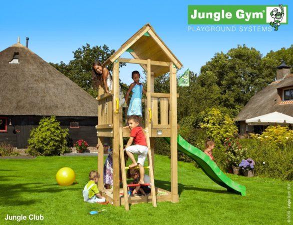Afbeelding van Blauwe Jungle Gym Club speelhuis