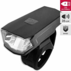 Lynx Koplamp High Power Usb Batterij Led 35 Lux Zwart