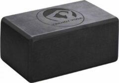 Antraciet-grijze Trendy Sport Yoga blok - Yogablok - Yoga Block - 23 cm lang - 15 cm breed - 10 cm dik - Antraciet