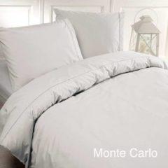 Papillon Monte Carlo - Dekbedovertrek - Eenpersoons - 140x200/220 cm + 1 kussensloop 60x70 cm - Wit