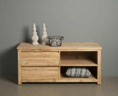 Teakea Corona | Teak TV meubel | Bruin | 130x50x60