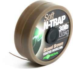 Grijze Korda N-Trap Soft Gravel 30lb - Onderlijnmateriaal - Gravel
