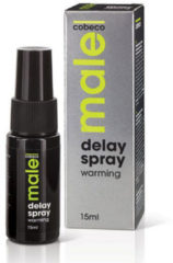 Male! Male Delay Spray Warming Klaarkomen Uitstellen - 15 ml