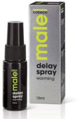 Male! Male Delay Spray Warming Klaarkomen Uitstellen - 15 ml