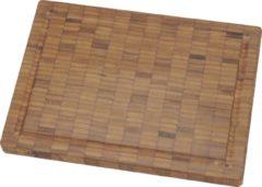 Bruine Zwilling J.A. Henckels Twin snijplank van bamboe 25 x 18,5 cm