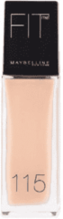 Maybelline Fit Me Matte & Poreless Foundation - 115 Ivory - Matterende Foundation - 30 ml