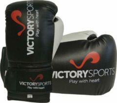 Witte Victory Sports Victorian (kick)bokshandschoenen 14 oz