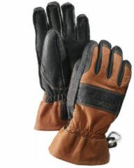 Hestra - Fält Guide Glove 5 Finger - Handschoenen maat 9, zwart/bruin