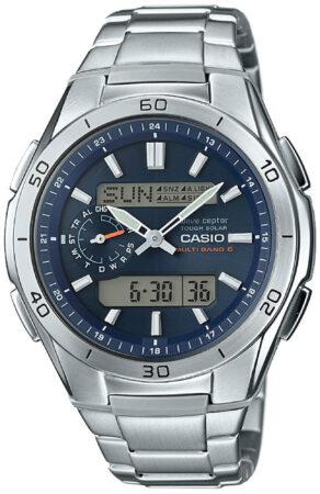 Afbeelding van G-Shock Casio WVA-M650D-2AER - Horloge - 43 mm - Staal - Grijs