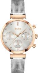 Hugo Boss BOSS HB1502551 FLAWLESS - Horloge - Staal - Zilverkleurig -Ø 36 mm