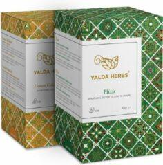 Combipack van Elixir en Lemon Cold Buster-2 Doosjes van Yalda Herbs kruidenthee-36 piramide theezakjes