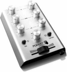 Pokket Pokketmixer DJ mixer zilver