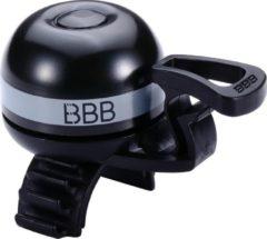 BBB cycling BBB-14 EasyFit Deluxe Fietsbel - Messing - Alle stuur diameters - Grijs