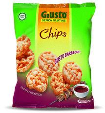 Giuliani Giusto Chips Riso Soffiato Barbecue Senza Glutine 30 g