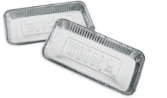 Weber Aluminium Lekbakjes XL voor 57 cm Houtskoolbarbecues