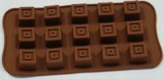 Bruine EIZOOKSHOP Vorm Praline - Chocolade - Fondant - Zeep - Klei