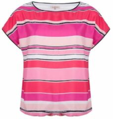 Roze Top stripes