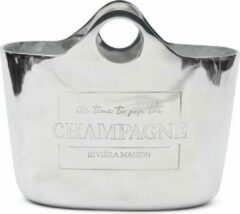 Zilveren Riviera Maison Pop The Champagne Cooler
