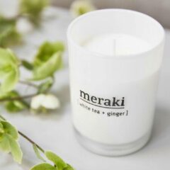 Meraki MK, Scented candle, White tea & gingerh: 10.5