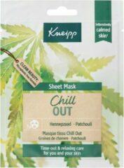 Kneipp Sheet Mask Gezichtsmasker Chill Out
