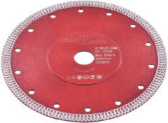VidaXL Diamantzaagblad met gaten 180 mm staal VDXL 143247