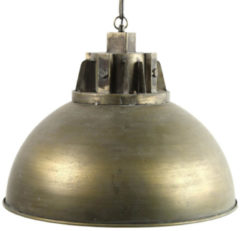 Goudkleurige Decostar Hanglamp Mattijn Led 148 X 53,5 Cm Staal Goud
