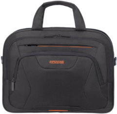 "American Tourister At Work Laptop Bag 15.6"" black/orange"