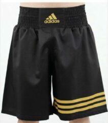 Adidas Multi (kick)Boxing Short Zwart Goud - XS