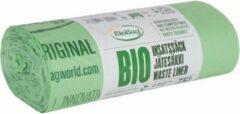Groene Print equipment 20 x BIOBAG biologisch composteerbare | afbreekbare vuilniszakken | gft afvalzakken 75 L