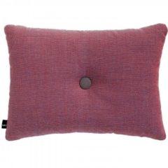 Rode Hay Cushion Dot Surface kussen-Rood