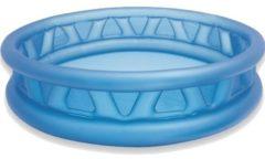 Blauwe Intex opblaaszwembad Soft Side 188 x 46 cm