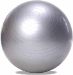 DW4Trading® Yoga fitness gym bal 65 cm zilver