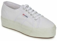 Witte Lage Sneakers Superga 2790 LINEA UP AND