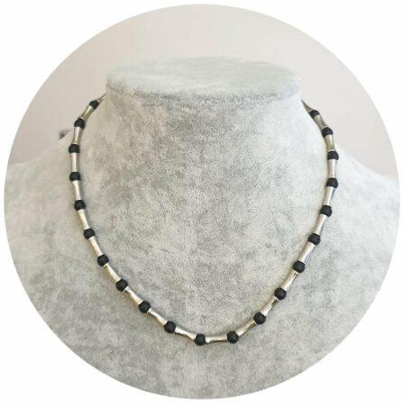 Afbeelding van Zilveren Fako Bijoux® - Ketting - Roman Infinity - 40cm