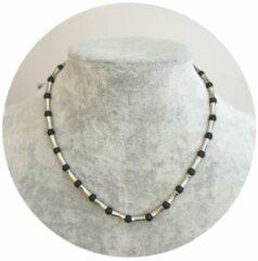 Zilveren Fako Bijoux® - Ketting - Roman Infinity - 40cm