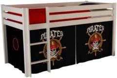Witte Emob Halfhoogslaper Charlotte wit - bedtent pirates