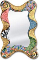 Tom's Company Kleurrijk, grappig en vrolijk, in alle kleuren van de regenboog: Spiegel Mellow