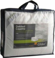 Witte Gilder Dekbed 100% Wol 200x200 4-seizoenen