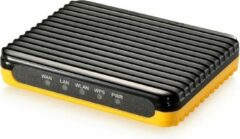 Level One LevelOne WBR-6802 draadloze router Fast Ethernet Zwart, Oranje